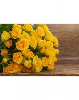 Bouquet of 51 yellow roses | Flowers for Holiday