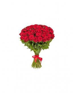 Bouquet of 51 red roses | Flowers for Holiday