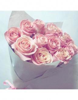 Bouquet of pink roses | Flowers for Holiday