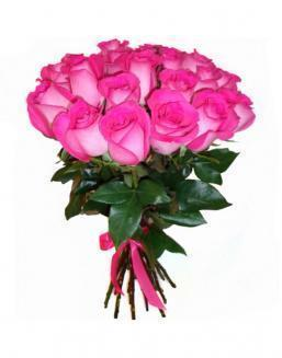 21 high elite pink roses | Flowers for Holiday