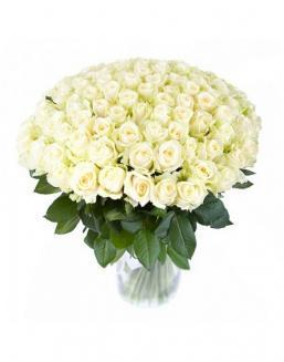 77 high elite white roses | Flowers for Holiday