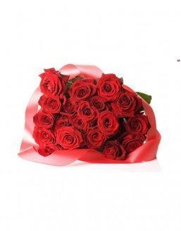 Bouquet of 21 red roses | Flowers for Holiday