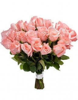 Bouquet of 33 pink roses | Flowers for Holiday